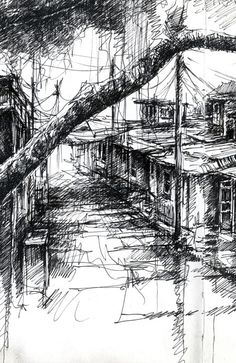 Chinese Village » Ian Murphy Sketchbooks
