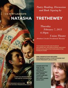 United States Poet Laureate, Natasha Trethewey, visits the ALPLM on