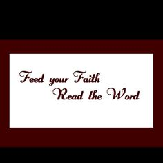 Read the WORD.