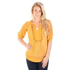 Dry Goods studded top