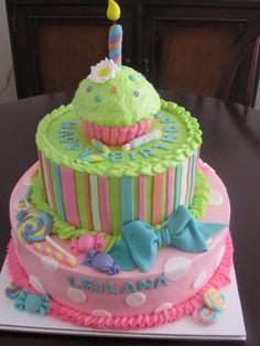 ♡❤ #Cakes ❤♡ ♥ ❥ Candyland cake