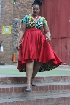 Knowing that the long awaited weekend is here again, another responsibility comes into play. Here are the plus-size Ankara casual styles for the weekend;