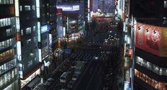 Tokyo Godfathers [東京ゴッドファーザーズ Tōkyō Goddofāzāzu] (Satoshi Kon, 2003) Tokyo Godfathers, Satoshi Kon, The Godfather, Times Square, Anime, Animation, Places, Travel, Inspiration