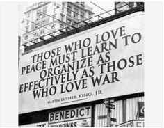 Great words from #MartinLutherKingJr #peace #war #love