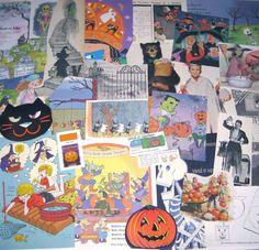 Vintage Halloween Ephemera Pack for Altered Art Lot K on Etsy, $7.95