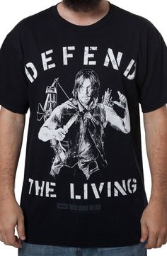 Walking Dead Darryl Dixon T-Shirt: The Walking Dead Mens T-shirt