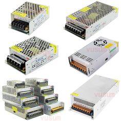12 볼트 LED 변압기 전원 공급 스위치 어댑터 AC 110 볼트 220 볼트 DC 12 볼트 2A/3A/5A/10A/20A/30A/40A/60A의 스트립 Led 드라이버 조명