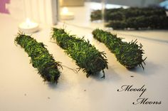 Organic cedar smudge sticks plucked from a local cedar tree and hand-rolled…