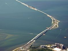 Sanibel Causeway is three miles long from Fort Myers, FL to islands of Sanibel and Captiva.