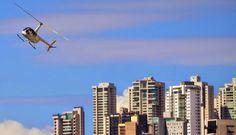 panorama: Helicoptero Fez pouso Forçado em Curitiba.   O F...
