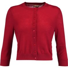 Miu Miu Cropped embellished cashmere cardigan (53.740 HUF) via ...