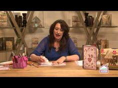 How to Finish and Decorate your Bookfolding with Debbi Moore - YouTube