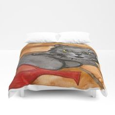 Cat in the Sauna Duvet Cover Celtic Triangle, Celtic Circle, Pillow Shams, Pillows, Purple Palette, The Ancient One, Princess And The Pea, Anne Of Green, Watercolor Texture