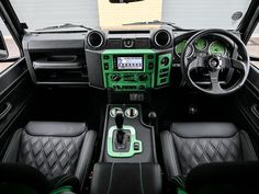 Looking for used Land Rover Defender cars? Find your ideal second hand used Land Rover Defender cars from top dealers and private sellers in your area with PistonHeads Classifieds. Landrover Defender, Land Rover Defender Pickup, Defender Car, Reupholster Car Seats, Bespoke Cars, Leather Car Seat Covers, Automotive Upholstery, Toyota Fj40, Cars Land