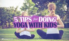 5 Tips for Doing Yoga With Kids-Giving children the tools to balance their emotions, calm nerves and develop a sense of self is THE way to ensure that our next generation does not end up being disconnected from each other and the planet. How To Teach Kids, How To Do Yoga, Toddler Yoga, Baby Yoga, Childrens Yoga, Deep Breathing Exercises, Yoga Breathing, How To Calm Nerves, Stomach Muscles