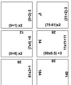 BODMAS puzzles Multiplication, Mathematics, Puzzles, Math, Puzzle