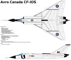 Avro Canada Arrow was a delta-wing interceptor aircraft, designed and built by Avro Aircraft Limited (Canada) in Malton, Ontario, Canada, as the culmination of a design study that began in Delta Wing, Ontario, Avro Arrow, Airplane Drawing, Bomber Plane, Aviation Industry, Aviation Art, Air Force Aircraft, Experimental Aircraft