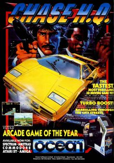 Video Games From Tomorrow   Chase HQ - As a Commodore 64 owner I was dead...