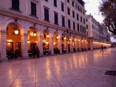 Corfu- Liston
