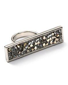 Belle Noel Swarovski Crystal Statement Ring - StyleSays
