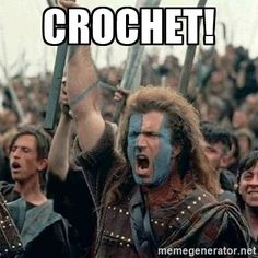Crochet!  | William Wallace braveheart mel gibson…
