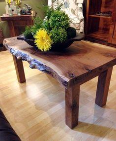 Live Edge Coffee Table - Walnut Creek Furniture