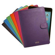 Personalized Leather iPad Mini Cases