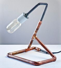Willie Industrial Copper Desk Lamp by Red Picket Fence available at Withal now.