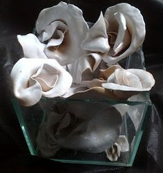 white roses ....my work....