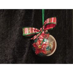 This beautiful handcrafted ornament is created with a silver glass ornament with gem poinsettias and holly leaves for that added touch of elegance. Handcrafted Christmas Ornaments, Handmade Christmas, Fabric Ornaments, Ball Ornaments, Holly Leaf, Glass Ball, Poinsettia, Gems, Create