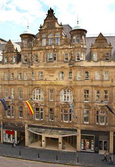 The Carlton Hotel, Edinburgh.  **** star accommodations.
