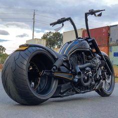 Harley-Davidson® Ape Hanger V-Rod custom by DGD Custom Harley Night Rod, Harley Davidson Night Rod, Harley V Rod, Harley Davidson Chopper, Harley Bikes, Harley Davidson Motorcycles, Harley Davidson Patches, Vrod Custom, Custom Harleys