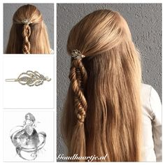 Three strand fishtail braid or DNA braid with a pretty hairclip from Goudhaartje.nl #threestrandbraid #3strandbraid #fishtailbraid #threestrandfishtail #braid #hair #longhair #hairstyle #instabraid #hairclip #hairaccessories #beautifulhair #halfup #halfupdo #vlecht #vissengraatvlecht #haar #haarstijl #langhaar #mooihaar #haarclip #haarspeldjes #haaraccessoires #goudhaartje