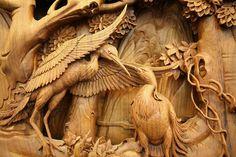 Восхитительные работы мастеров традиционной китайской резьбы по дереву Донгянг