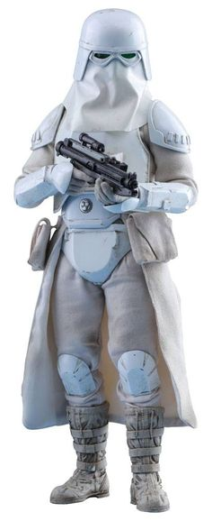 Hot Toys Star Wars Episode V Movie Masterpiece Action Figure 1/6 Snowtrooper