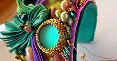 Jak zrobić bransoletke z jedwabiem shibori DIY, Jedwab shibori w roli głównej - tutoriale