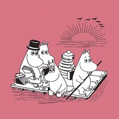 When are the Moomins back on TV? What is Moominvalley? What are the best Moomins quotes? What life lessons did we learn from the Moomins? Moomin Wallpaper, Moomin Valley, Childhood Stories, Tove Jansson, Whimsical Fashion, Disney Winnie The Pooh, Children's Literature, Book Characters, Cover Art