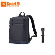 New Original Xiaomi Wired control Selfie Stick Monopod And Large Capacity Business School Backpack for 15 inch Notebook Laptop