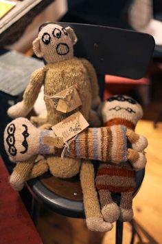 #Kenana  #hand #knit dolls at Hudson River - Vintage Furniture & Americana