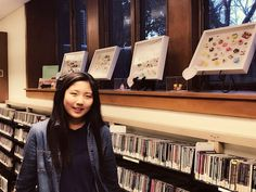 Meet Jumi Kim, 8th grader at Gelinas Junior High & artist for our current Teen Art Display! Jumi was born in Sydney, Australia and lived in South Korea before moving to the U.S. Be sure to check out her amazing miniature clay sculptures on the lower level of the library! Would you like the chance to display your artwork? Fill out an application (online teen.emmaclark.org or paper copies in the library).