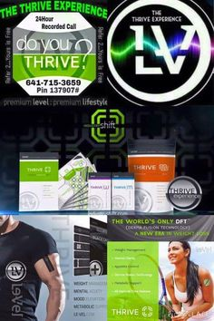 THRIVE by LeVel can change your life!!!! More energy, weight management, immune support, joint support, less aches and discomforts, mental clarity and more!!! Sign up at http://akoelzer.Le-Vel.com