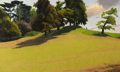 """""""The Rise to Cooper's Hill"""" by Alan Bennett. Runnymede Campus. Collection:  Brunel University Artworks Collection"""