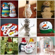 Snowmen are my favorite!!! Snowmen crafts
