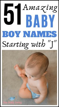 Picking the right name is a big deal any way you look at it. And if you have your heart set on choosing a baby boy name starting with J, you have an even greater task ahead of you. Here's a list of baby names starting with letter J. Read on! J Baby Names, Boy Names With J, J Names, Unique Baby Boy Names, Baby Name Letters, Baby Name List, Baby Hacks, Mom Hacks, Baby Swag