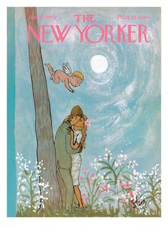 The New Yorker Cover - June 19, 1965 William Steig