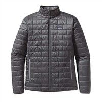 Patagonia Nano Puff Jacket  Mens  Forge Grey