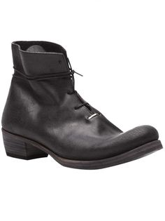M.A+ - One Piece Staple Ankle Boot - SW6B2 MAVR 1.5 BLK - H. Lorenzo #hlorenzo #boots #shoes