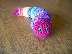 Ravelry: Raid Your Stash Rainbow Worm pattern by Jennie Claver