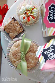 STYLiNG | Cookie Exchange or Bake Sale Packaging Station