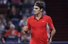 Roger Federer Back to Summer Version Sets Djokovic Clash in Shanghai Semifinals!